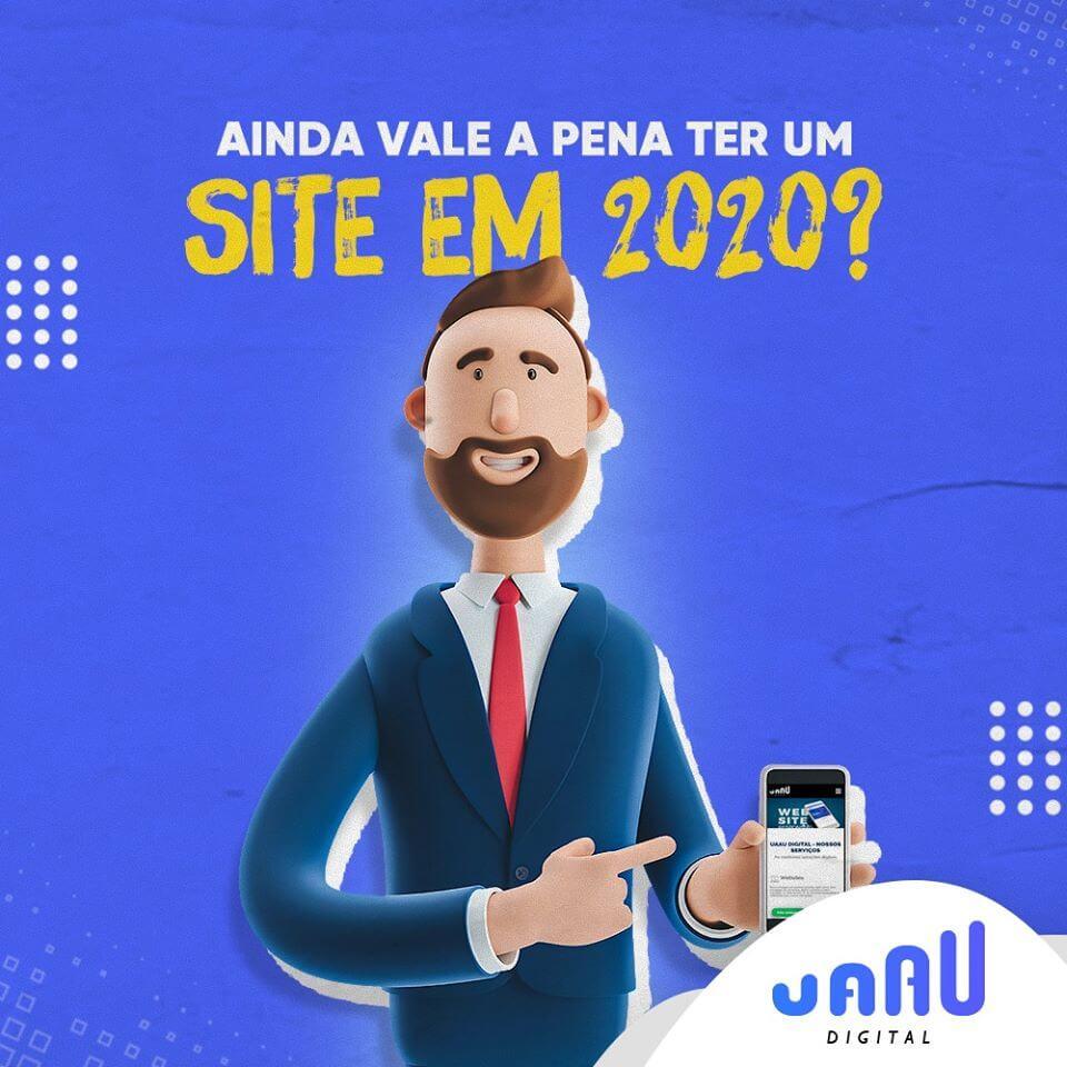 AINDA VALE A PENA TER UM SITE EM 2020?